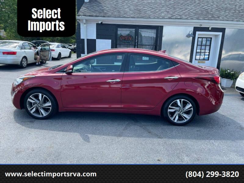2014 Hyundai Elantra for sale at Select Imports in Ashland VA