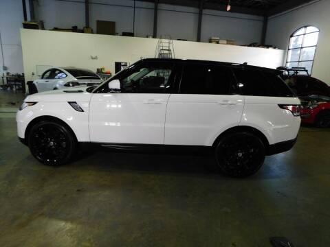 2016 Land Rover Range Rover Sport for sale at Shedlock Motor Cars LLC in Warren NJ