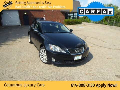 2007 Lexus IS 250 for sale at Columbus Luxury Cars in Columbus OH