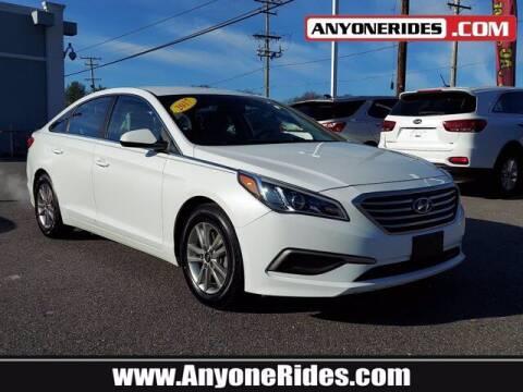 2017 Hyundai Sonata for sale at ANYONERIDES.COM in Kingsville MD