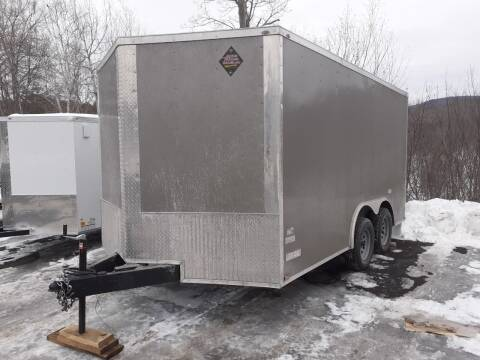 2021 Quality Cargo 8.5x14 Enclosed Trailer for sale at Mascoma Auto INC in Canaan NH