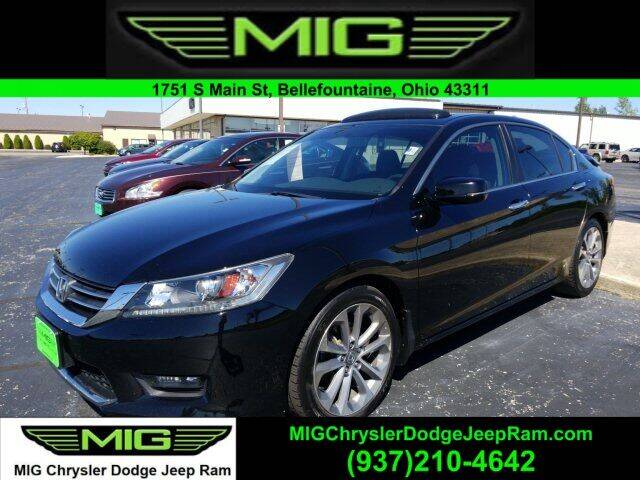 2015 Honda Accord for sale at MIG Chrysler Dodge Jeep Ram in Bellefontaine OH