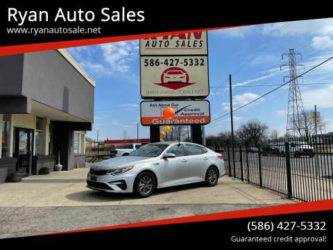 2020 Kia Optima for sale at Ryan Auto Sales in Warren MI