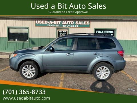 2011 Subaru Forester for sale at Used a Bit Auto Sales in Fargo ND