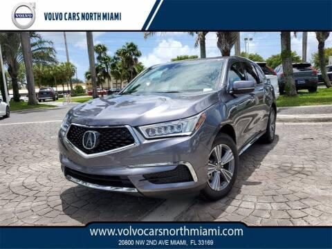 2018 Acura MDX for sale at Volvo Cars North Miami in Miami FL