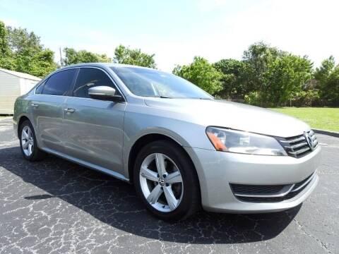 2013 Volkswagen Passat for sale at SUPER DEAL MOTORS 441 in Hollywood FL