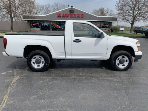 2012 Chevrolet Colorado for sale at Hawkins Motors Sales in Hillsdale MI
