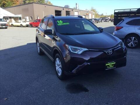 2016 Toyota RAV4 for sale at SHAKER VALLEY AUTO SALES - Late Models in Enfield NH