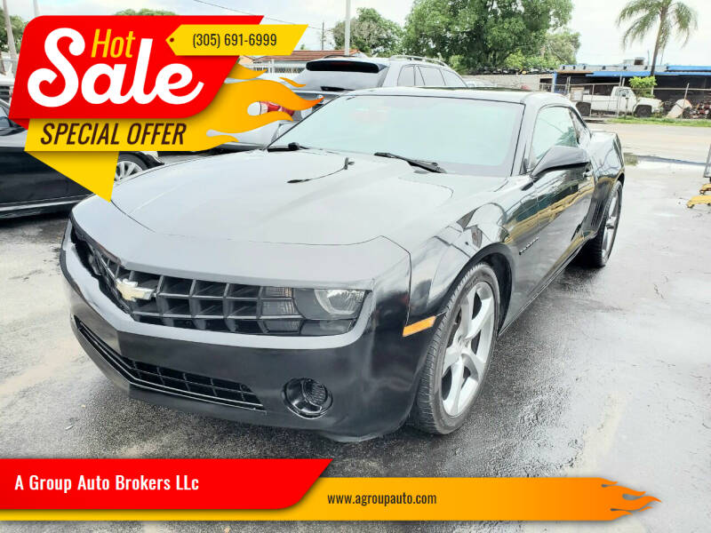 2012 Chevrolet Camaro for sale at A Group Auto Brokers LLc in Opa-Locka FL