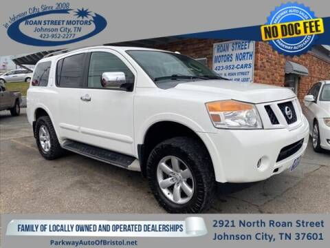 2010 Nissan Armada for sale at PARKWAY AUTO SALES OF BRISTOL - Roan Street Motors in Johnson City TN