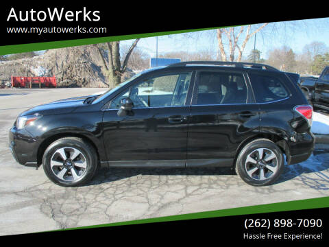 2017 Subaru Forester for sale at AutoWerks in Sturtevant WI