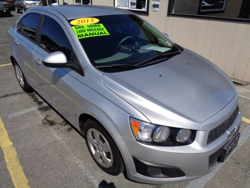 2013 Chevrolet Sonic for sale at BBL Auto Sales in Yakima WA
