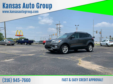2018 Ford Escape for sale at Kansas Auto Group in Wichita KS