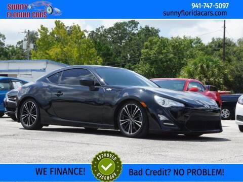 2015 Scion FR-S for sale at Sunny Florida Cars in Bradenton FL