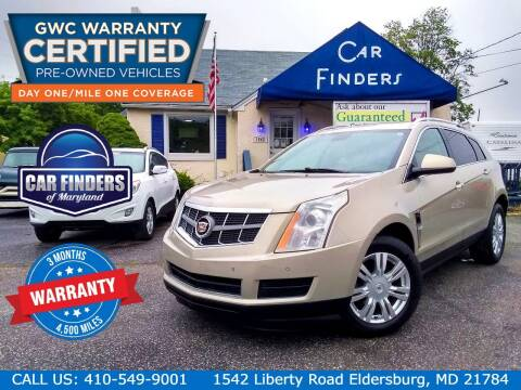 2012 Cadillac SRX for sale at CAR FINDERS OF MARYLAND LLC - Certified Cars in Eldersburg MD