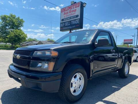 2007 Chevrolet Colorado for sale at Unlimited Auto Group in West Chester OH