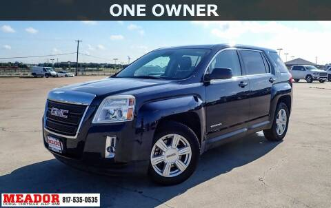 2015 GMC Terrain for sale at Meador Dodge Chrysler Jeep RAM in Fort Worth TX