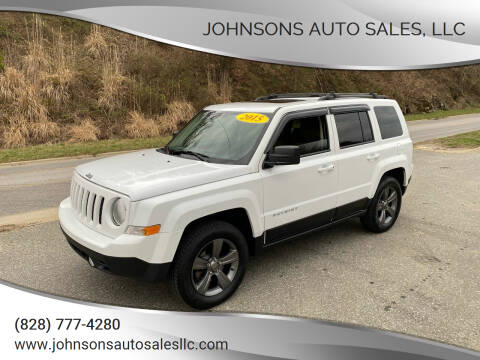 2015 Jeep Patriot for sale at Johnsons Auto Sales, LLC in Marshall NC