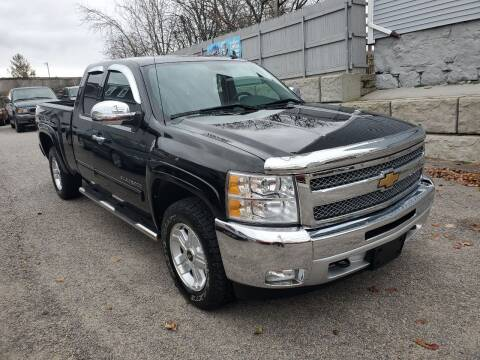 2012 Chevrolet Silverado 1500 for sale at Fortier's Auto Sales & Svc in Fall River MA