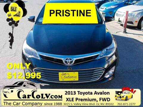 2013 Toyota Avalon for sale at The Car Company in Las Vegas NV