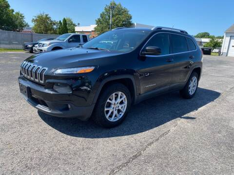 2014 Jeep Cherokee for sale at Riverside Auto Sales & Service in Portland ME
