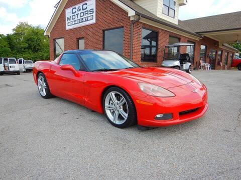 2008 Chevrolet Corvette for sale at C & C MOTORS in Chattanooga TN