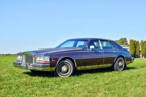 1985 Cadillac Seville for sale at Hooked On Classics in Watertown MN