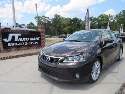 2011 Lexus CT 200h for sale at J T Auto Group in Sanford NC