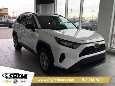 2020 Toyota RAV4 for sale at COYLE GM - COYLE NISSAN in Clarksville IN