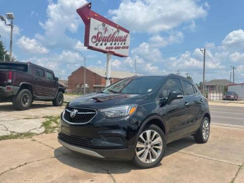 2017 Buick Encore for sale at Southwest Car Sales in Oklahoma City OK