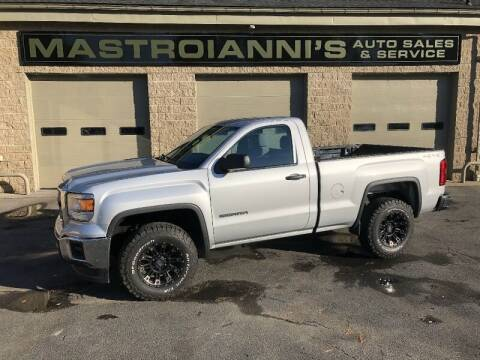 2014 GMC Sierra 1500 for sale at Mastroianni Auto Sales in Palmer MA