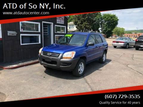 2008 Kia Sportage for sale at ATD of So NY, Inc. in Johnson City NY