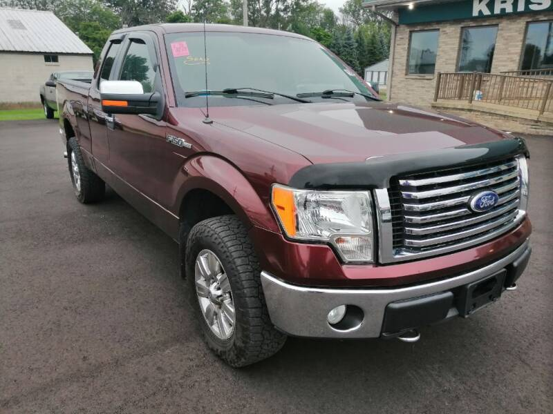 2010 Ford F-150 for sale at KRIS RADIO QUALITY KARS INC in Mansfield OH