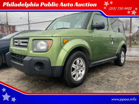 2007 Honda Element for sale at Philadelphia Public Auto Auction in Philadelphia PA