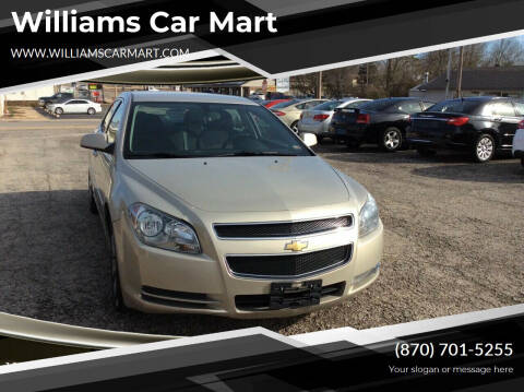 2012 Chevrolet Malibu for sale at WILLIAMS CAR MART in Gassville AR
