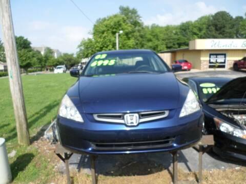 2003 Honda Accord for sale at Credit Cars of NWA in Bentonville AR