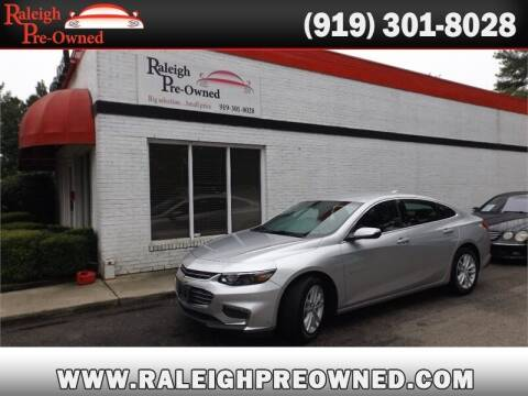 2018 Chevrolet Malibu for sale at Raleigh Pre-Owned in Raleigh NC