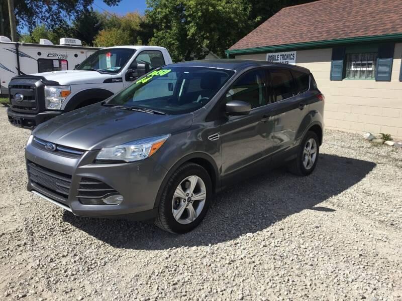 2014 Ford Escape for sale at Mobile-tronics Auto Sales in Kenockee MI