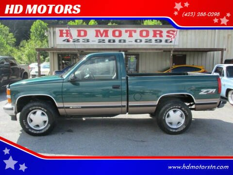 1996 Chevrolet C/K 1500 Series for sale at HD MOTORS in Kingsport TN