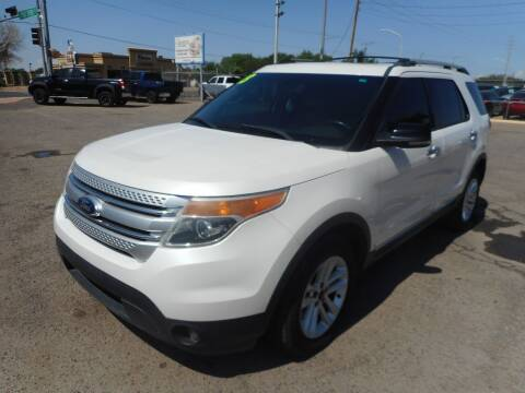 2013 Ford Explorer for sale at AUGE'S SALES AND SERVICE in Belen NM