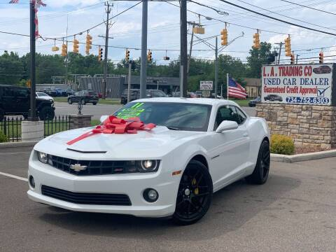 2011 Chevrolet Camaro for sale at L.A. Trading Co. Woodhaven in Woodhaven MI