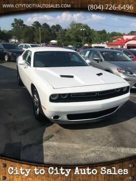 2015 Dodge Challenger for sale at City to City Auto Sales in Richmond VA