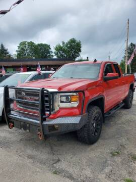 2015 GMC Sierra 1500 for sale at Wrights Auto Sales and Repair in Dolgeville NY