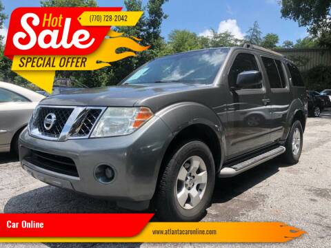 2008 Nissan Pathfinder for sale at Car Online in Roswell GA