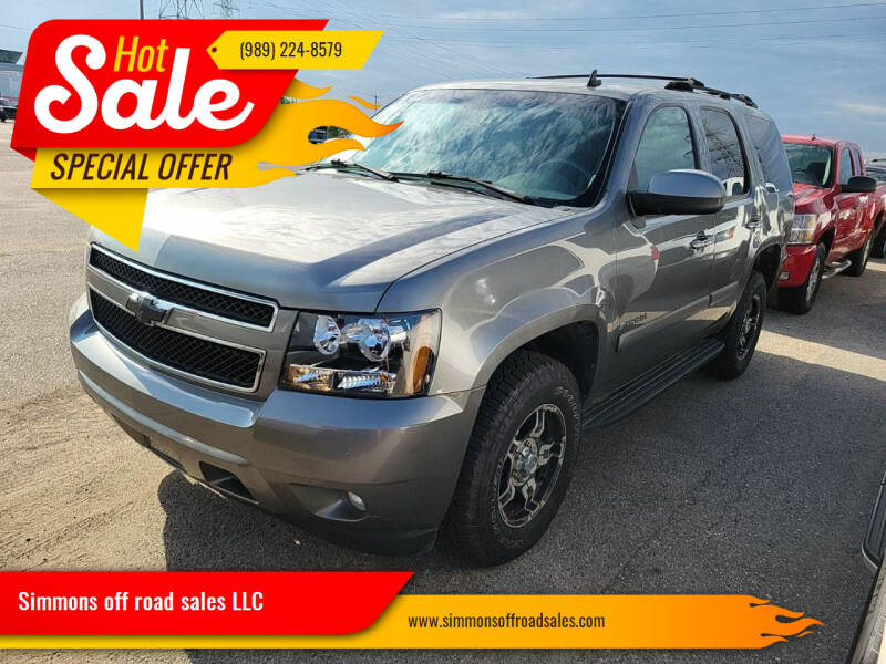 2007 Chevrolet Tahoe for sale at Simmons off road sales LLC in Saint Johns MI