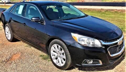 2015 Chevrolet Malibu for sale at Advantage Auto Sales in Wichita Falls TX