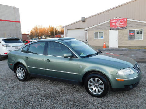 2002 Volkswagen Passat for sale at Macrocar Sales Inc in Akron OH