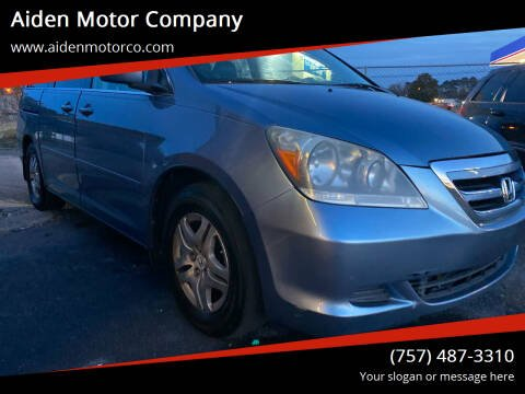 2007 Honda Odyssey for sale at Aiden Motor Company in Portsmouth VA