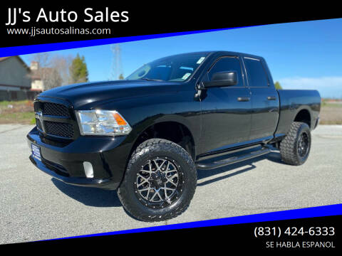 2013 RAM Ram Pickup 1500 for sale at JJ's Auto Sales in Salinas CA