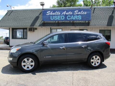 2009 Chevrolet Traverse for sale at SHULTS AUTO SALES INC. in Crystal Lake IL